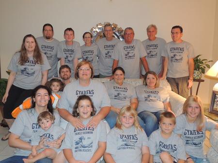 Gyarfas Family Reunion! T-Shirt Photo