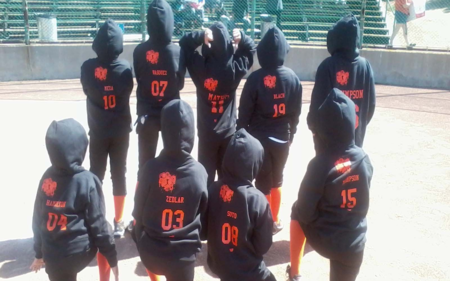 Santa Clara P.A.L Orange Crush Softball 2012 T-Shirt Photo