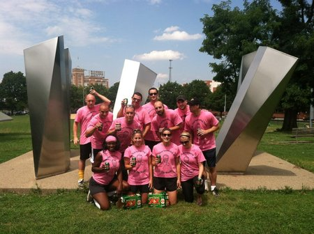 2012 Kickball For Hope Champions T-Shirt Photo