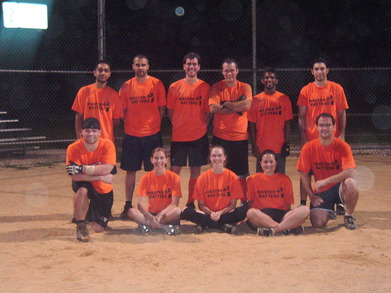 Master Batters Softball Team T-Shirt Photo