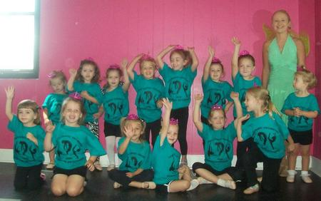 """Princess Camp"" At Lora's Dance Unlimited T-Shirt Photo"
