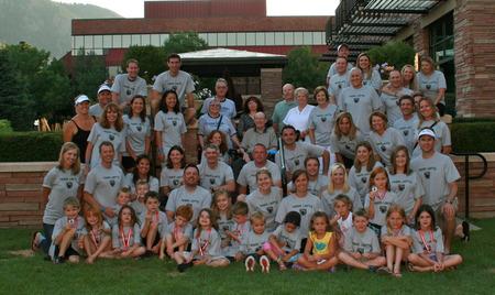 Team Larry Iron Man Boulder  T-Shirt Photo