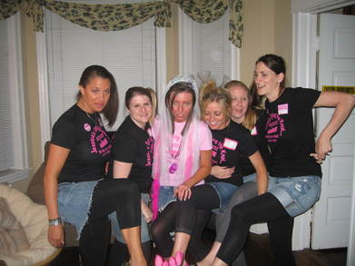 Jessica's Bachelorette Party T-Shirt Photo
