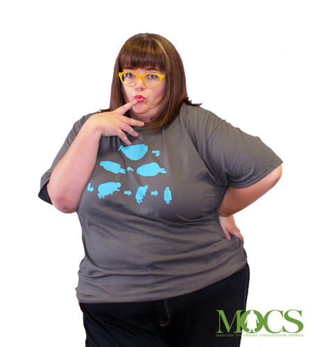 Rachel Modeling The Mocs Evolution T Shirt T-Shirt Photo