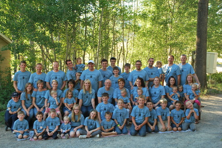 The Morgan Clan 2012 T-Shirt Photo