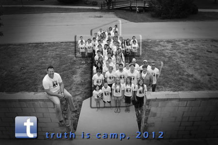 Truth Is Summer Camp 2012 T-Shirt Photo