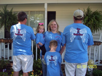 "Team ""Hope For Hannah Grace"" T-Shirt Photo"
