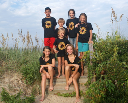 Sol Train Beach Crew T-Shirt Photo
