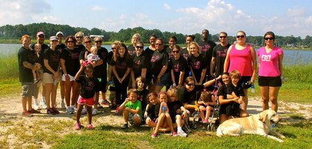Team Pay It Forward Remembering Brandy Miller T-Shirt Photo