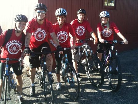 Village Cycle Center Cycle For Life T-Shirt Photo