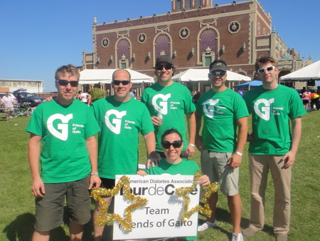 Team Fo G/Friends Of Gaito Tour De Cure At The Jersey Shore T-Shirt Photo