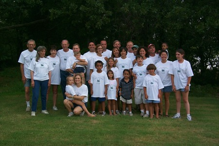 Stewart Family Reunion 2004 T-Shirt Photo