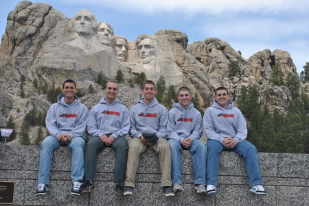 Nu Baja At Mt. Rushmore! T-Shirt Photo