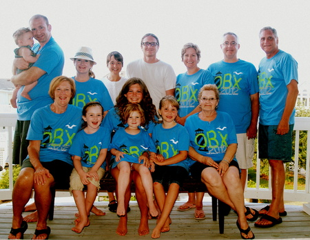 Outer Banks Family Vacation T-Shirt Photo