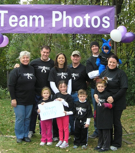 Team Milly 2012 T-Shirt Photo