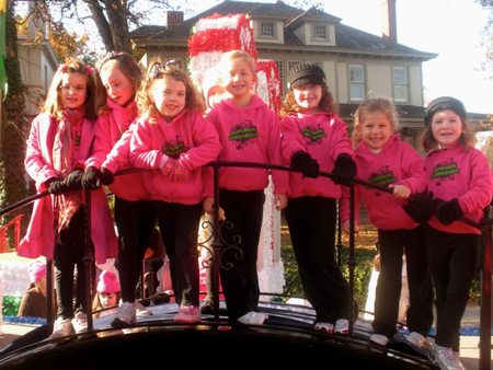 Superior Gymnastic At Raleigh Christmas Parade T-Shirt Photo