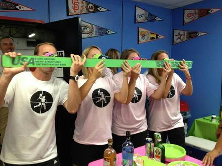 Dodgeball Shotski T-Shirt Photo