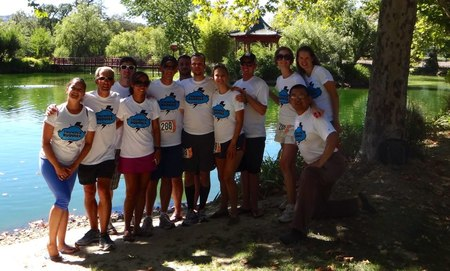 Team Thunder Buddies  Ragnar Relay, Napa Valley T-Shirt Photo