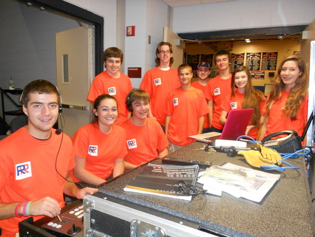 Whs Rebel Report News Crew On Location Shoot T-Shirt Photo
