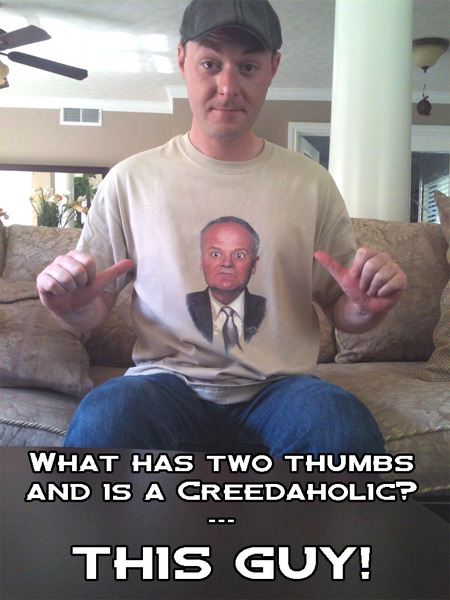 Creedaholic T-Shirt Photo