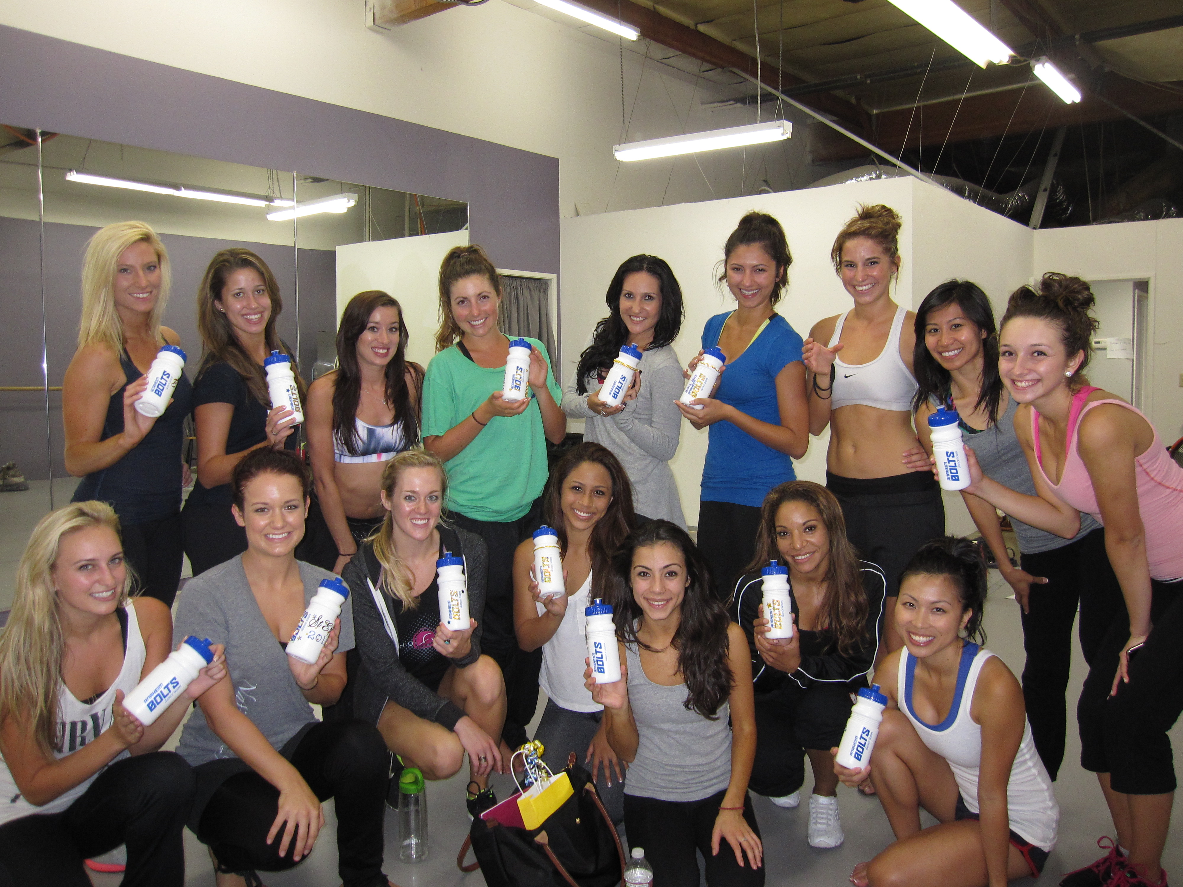 Anaheim Bolts Professional Dance Team