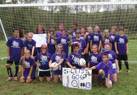 7th Grade Rocks At Soccer! T-Shirt Photo