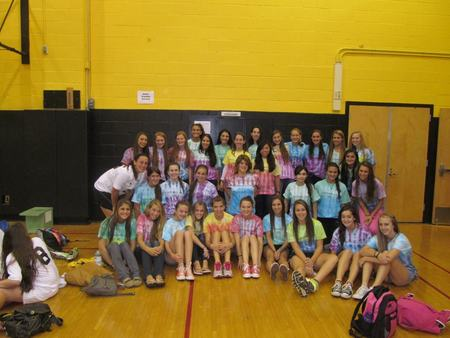 Commack Girls Cross Country T-Shirt Photo