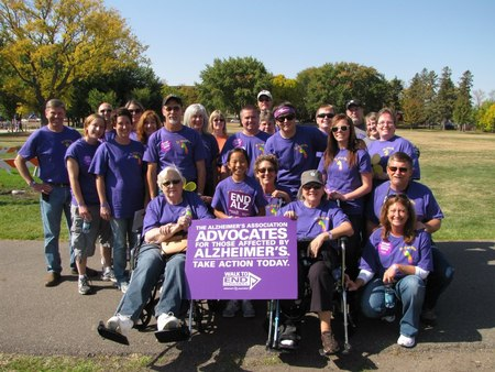 Heidgerken's Hikers To End Alz T-Shirt Photo
