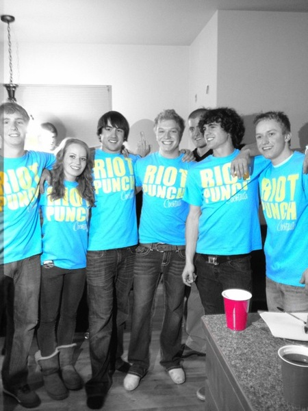Riot Punch! T-Shirt Photo