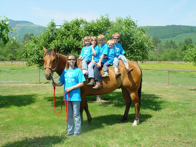 Van Zandt Equine Camp 2007 T-Shirt Photo