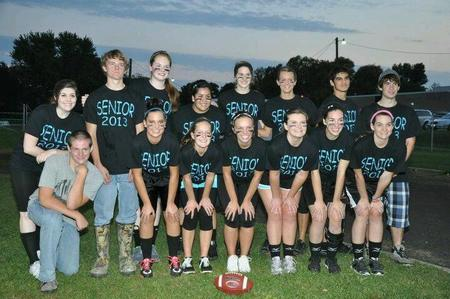 Powderpuff Football Champs T-Shirt Photo
