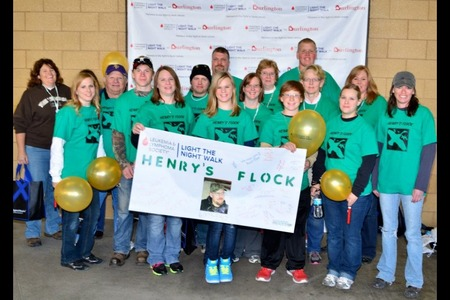 Remembering Henry At A Cancer Walk T-Shirt Photo