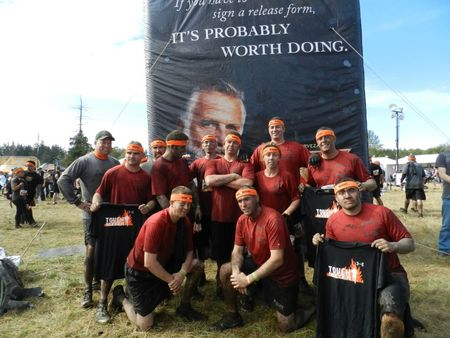 Dirty Birds At Tough Mudder Seattle! T-Shirt Photo