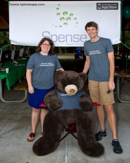 Spense Mascot, Choco The Bear T-Shirt Photo