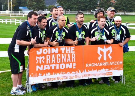 """Me Ragnar Long Time"" 200 Mile Ragnar Relay Team T-Shirt Photo"