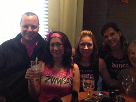 Breast Cancer Zumba Give Back Event With Our Cool New Tshirts! T-Shirt Photo