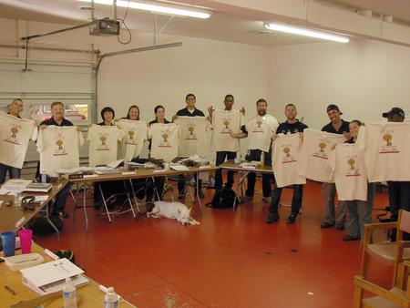 We Love Our Custom Ink Shirts! T-Shirt Photo