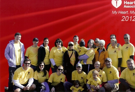 Info Works Walks Heart And Sole For Aha T-Shirt Photo