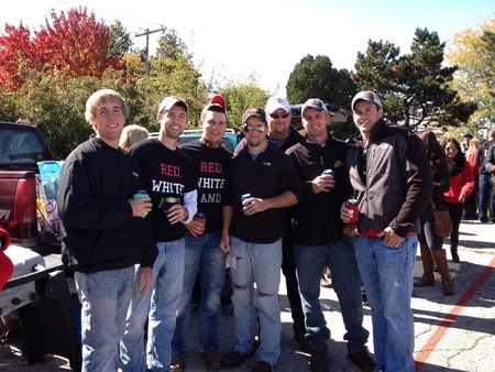 Homecoming 2012 Red White And Blacked Out!!!! T-Shirt Photo