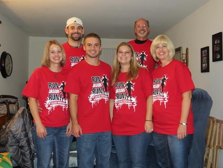 Jason Chicago Marathon T-Shirt Photo