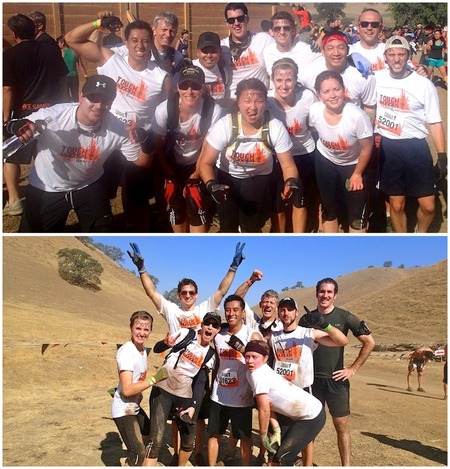 Team Book Renter Conquers Tough Mudder T-Shirt Photo