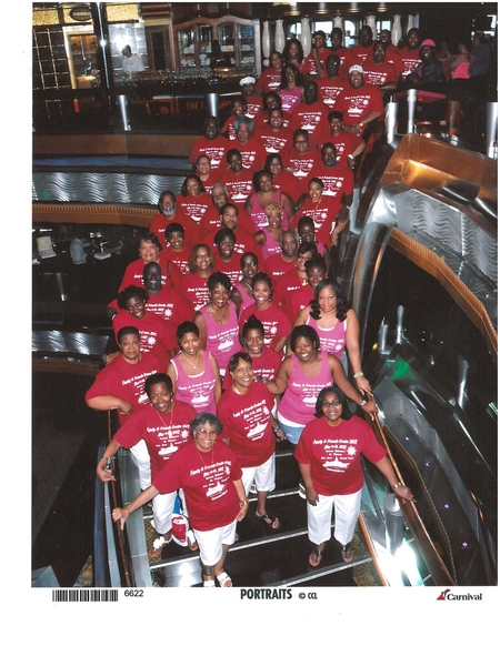 Cruising 2012 On The Carnival Glory T-Shirt Photo