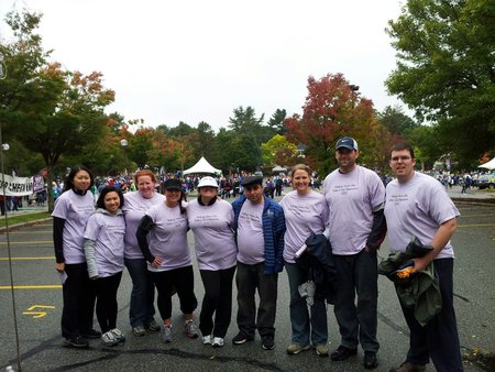 Team Walk For Nonna Ida 2012 Walk To End Alzheimer's T-Shirt Photo