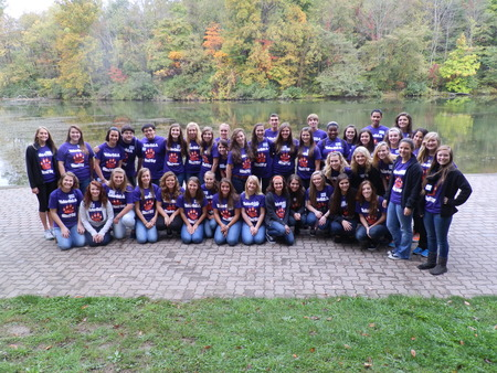 """Greensburg Salem """"You've Got A Friend Day"""" For Special Needs Students. T-Shirt Photo"""