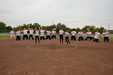 Play For Pink Game T-Shirt Photo