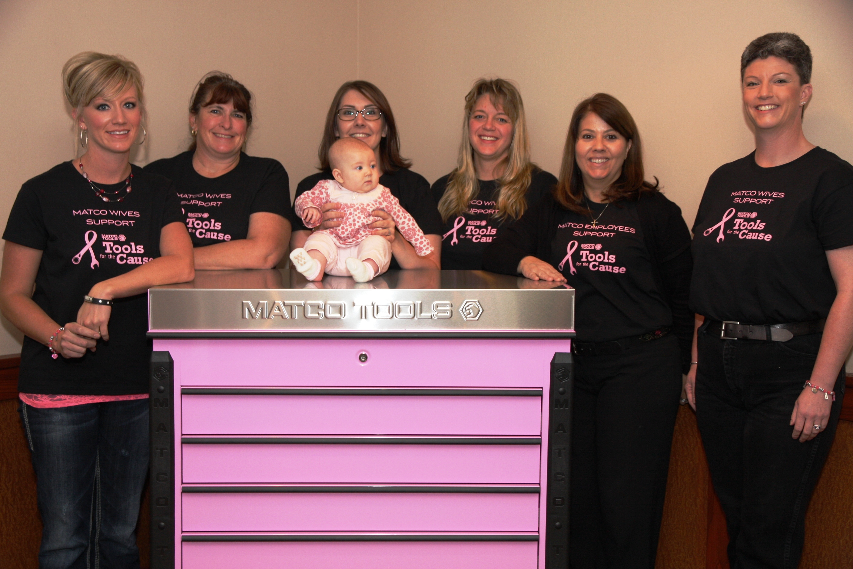 Custom T-Shirts for Matco Wives Support Tools For The Cause
