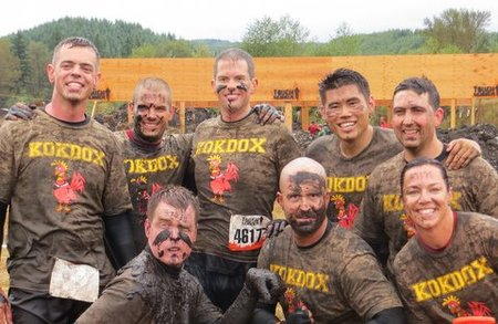The Kok Dox Dominate The Seattle Tough Mudder T-Shirt Photo