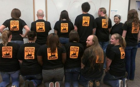 Team Fainting Goats! T-Shirt Photo