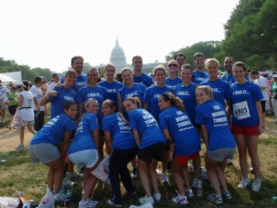 Race For The Cure Washington D.C. T-Shirt Photo