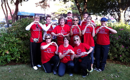 We Rocked The Red For Go Red! T-Shirt Photo